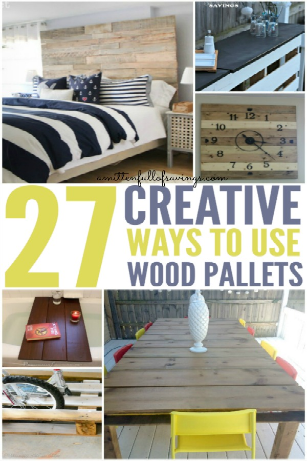 27 Creative Ways To Use Wood Pallets