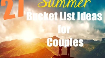 27 Summer Bucket List Ideas for Couples