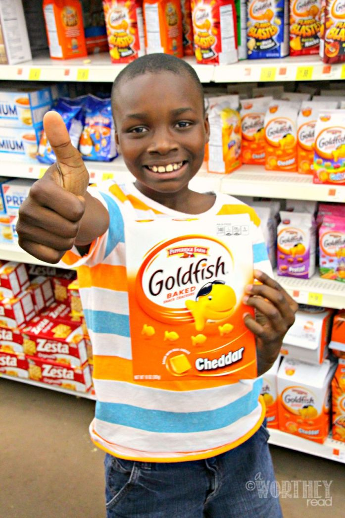 Pepperidge Farm Goldfish Crackers Walmart zayd'n