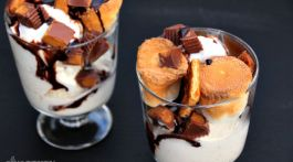 REESE'S Peanut Butter Cup S'more Sundae