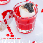 This red Halloween drink may be scary to look at, but with a shot Whiskey, it goes down easy. Our Blood Clot Shots will be a perfect match for your Halloween party, giving it the ultimate Halloween drink to try this year!