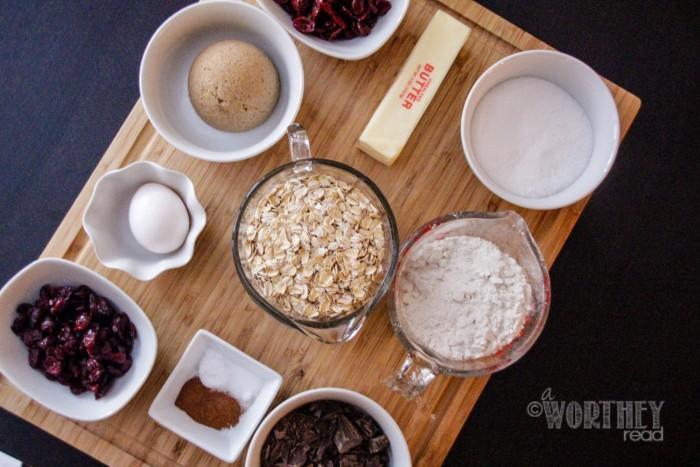 Salted Caramel Irish Coffee & Cherry, Cranberry & Chocolate Chunk Oatmeal Cookies