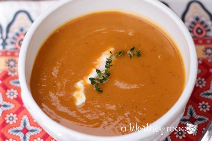 Sweet Potato & Yukon Gold Soup