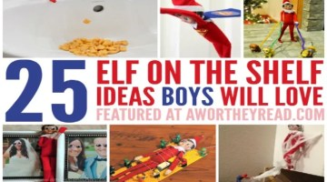 Elf On The Shelf Ideas For Boys