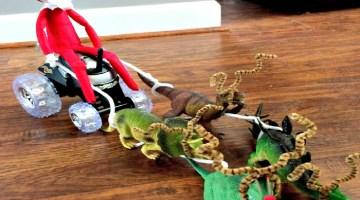 Elf on the Shelf Idea Copycat Santa Claus