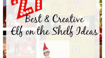 27 Creative & Best Elf On The Shelf Ideas