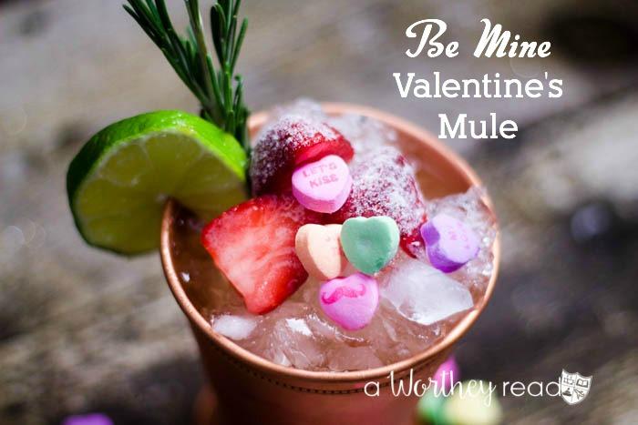 Valentine's Cocktail Recipe- The Be Mine Valentine's Mule