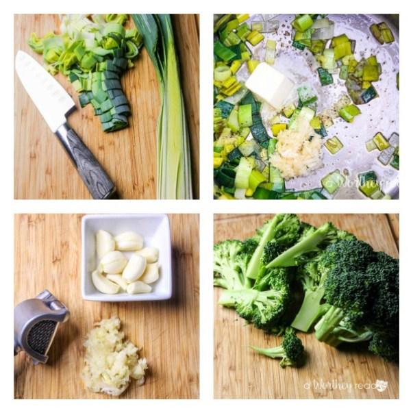 Broccoli Cheddar Soup with Cheddar Crostini AWR 3