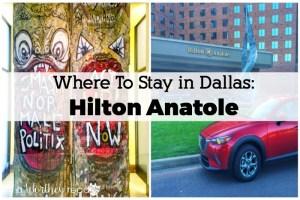 Where To Stay in Dallas: Hilton Anatole