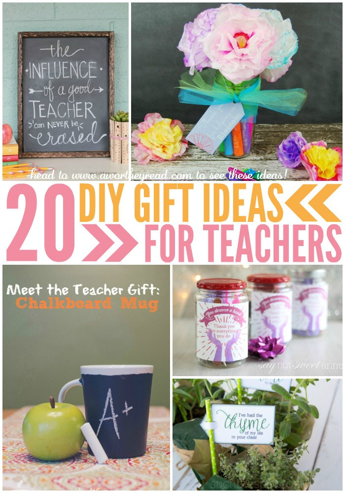 teacher appreciation day is coming up heres 20 easy diy gift ideas for teachers