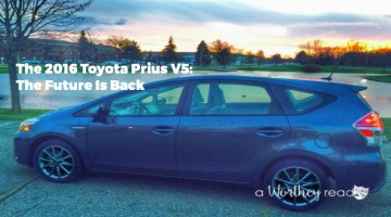 The 2016 Toyota Prius V5: The Future Is Back