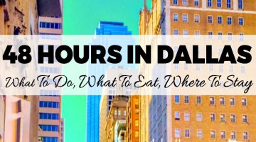 Planning a weekend getaway to Dallas? Want to know how much fun you can have in Dallas in only 48 or 72 hours? I'm here to show you much how fun you can do in Dallas in just a short amount of time!