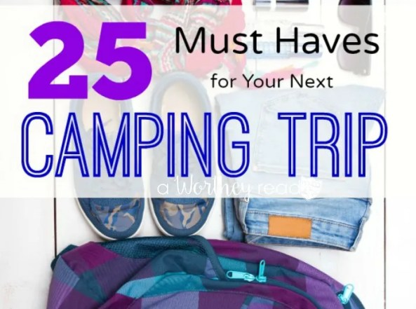 Going camping soon? Rather you're a first timer camper or a seasoned camper, this must-haves camping essentials is necessary for everyone!