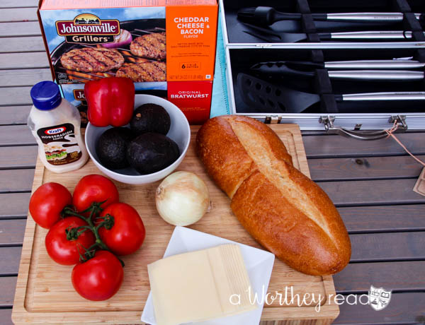 Time to get the grill out with Johnsonville Grillers. We're making Summertime Grilled Hamburger Hoagie, which will be a hit at your family cookout or backyard party!