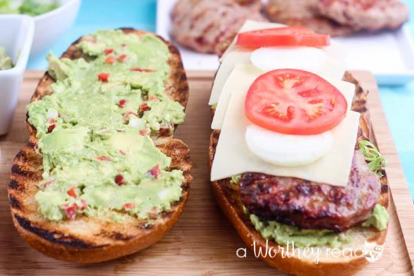 Summertime Grilled Hamburger Hoagie-12