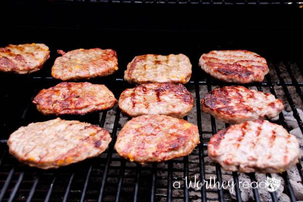 Summertime Grilled Hamburger Hoagie-5