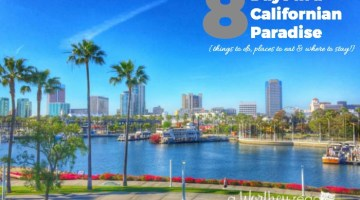Headed to California? Here's a list of things to do in Southern California, places to eat and where to stay! Great family vacation ideas for SoCal- Eight Days in a Californian Paradise