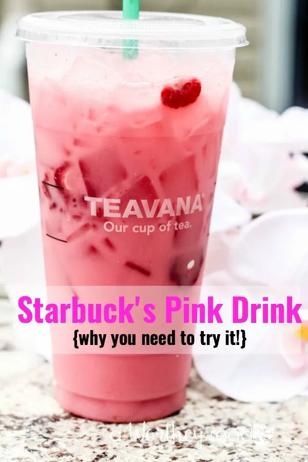 Reasons why you need to try the Starbucks Pink Drink #pinkdrink