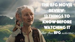 Movie review of the big friendly giant