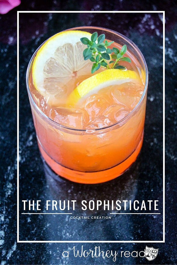 The Fruit Sophisticate Cocktail