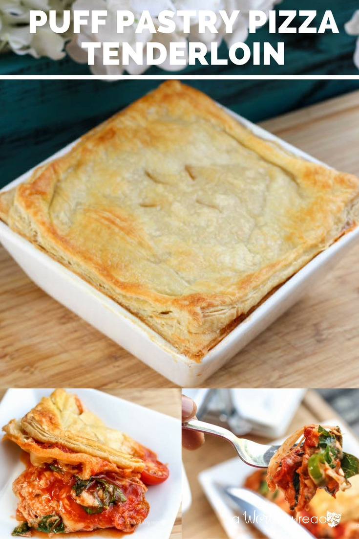 Pork loin in puff pastry recipe