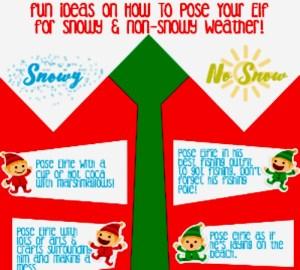 12 Fun Elf On The Shelf Poses