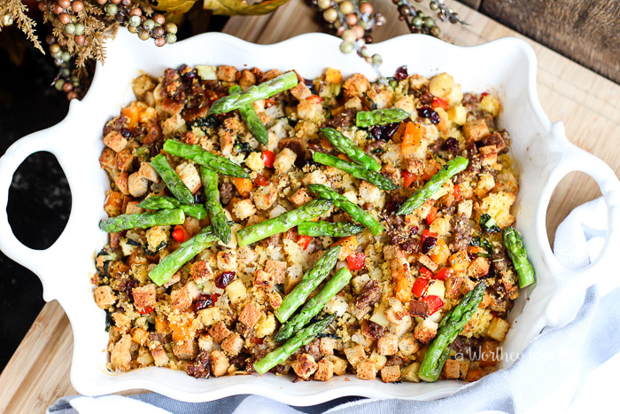 It's almost Thanksgiving time. This year, try your regular stuffing or dressing recipe with the flavorful Johnsonville Italian Sausage. Cornbread & Italian Sausage Dressing with Winter Veggies