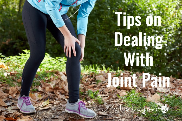 Do you suffer from joint pain? Do you have pain in your knees or hips? I started to suffer from pain in my knees after giving birth. Here's my story and Tips on Dealing With Joint Pain