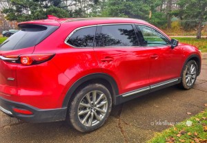 Celebrating The Holidays With the Mazda CX-9