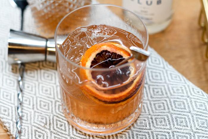 Raspberry Tea Fizz Cocktail