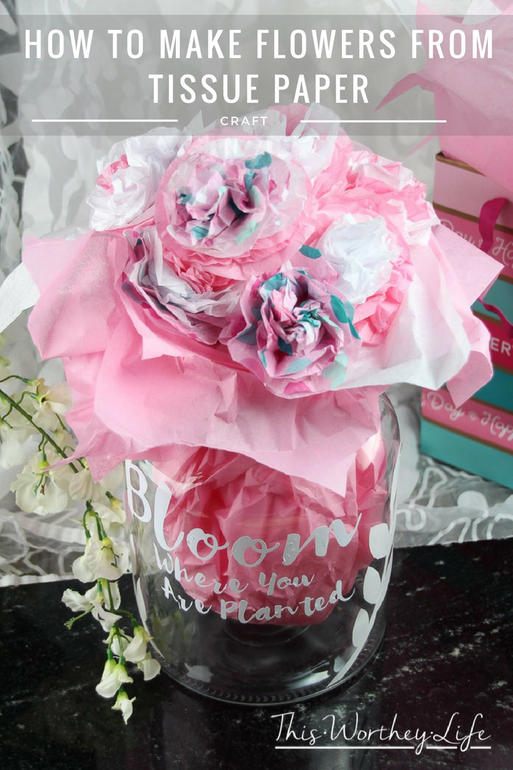 How to Make Forever Flowers out of Paper Tissue