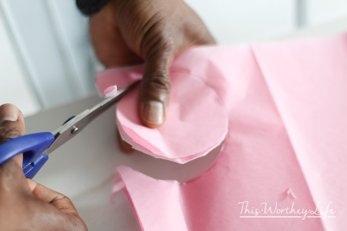How to make flowers of paper tissue