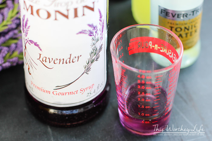 Limoncello + Lavender Frosted Cocktail