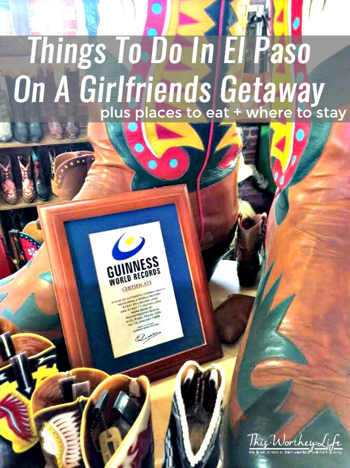 Things To Do In El Paso On A Girlfriends Getaway are perfect for helping you plan your next weekend getaway! Tons of great culture and food to experience!