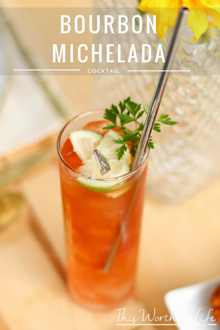 National Michelada Day is coming soon. This Michelada idea is a great way to celebrate. Michelada cocktails are similar to the Bloody Mary, so give it a try today! Bourbon Michelada Cocktail