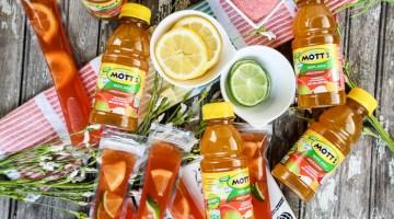 Apple Mango & Cherry Lemonade Ice Pops