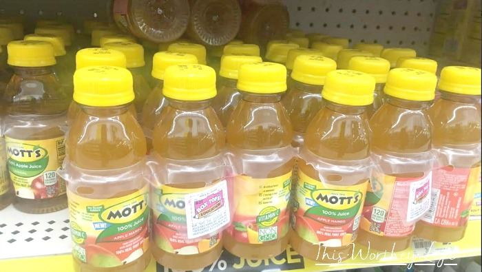 Mott's Apple Mango at Dollar General