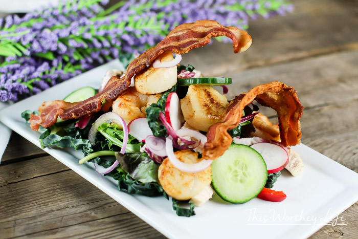 Surf And Turf Dinner Party Ideas Part - 31: Salads Are The Perfect Light Summer Meal Ideas To Make! We Took Your  Original Surf
