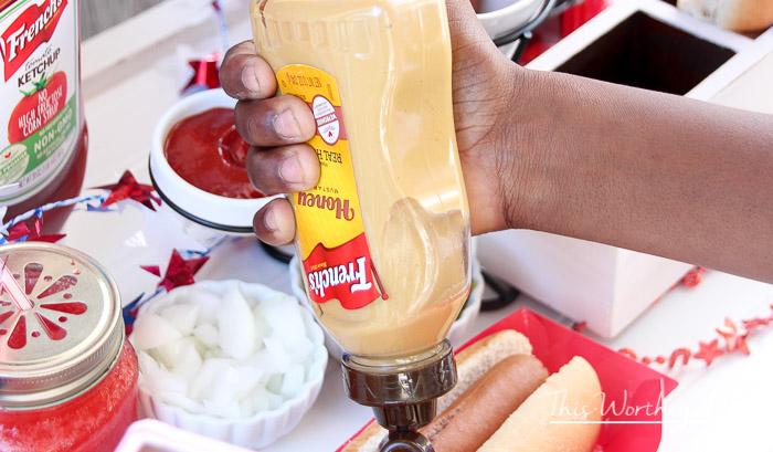 Americana DIY Hot Dog Stand-5