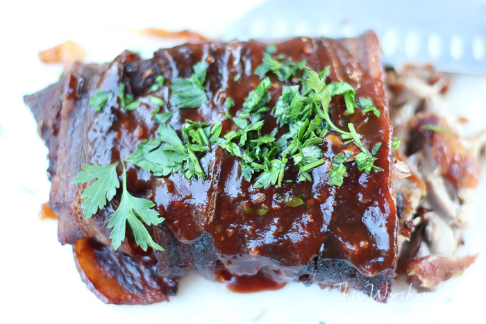 Bacon Wrapped Baby Back Ribs Grilling Recipe