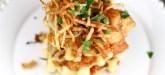 Cornmeal + Buttermilk Waffles + Savory Fried Chicken