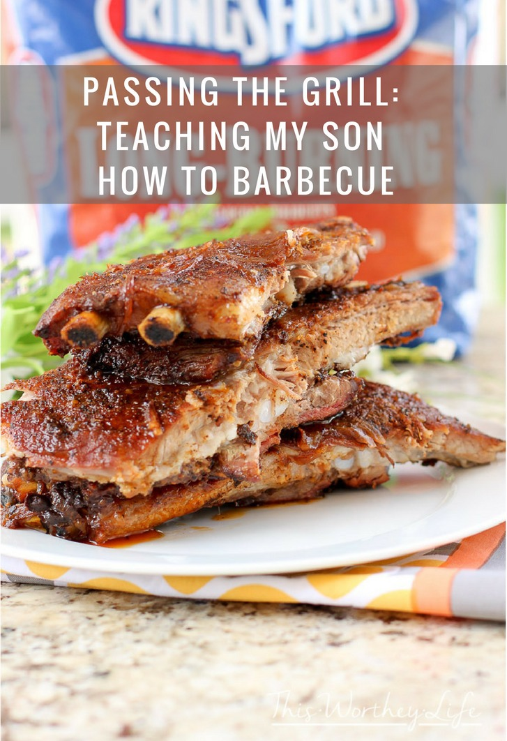 Passing The Grill: Teaching My Son How To Barbecue