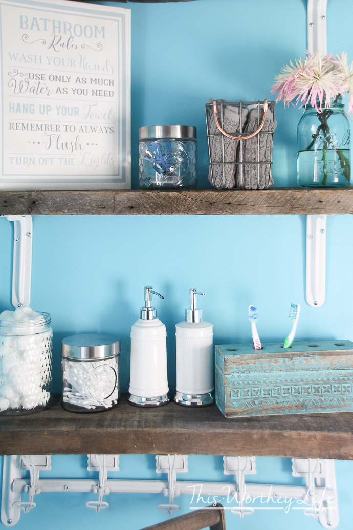 easy ways to update your bathroom without a DIY