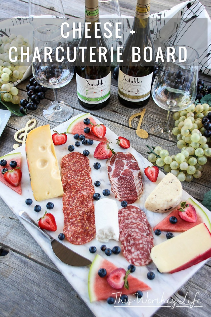 Cheese Boards are a great appetizer to serve at any party. It's important to pair your cheese board with a good wine, and we're sharing details on how to select a good wine to go along with your cheese board idea. Get the details on the blog- Cheese + Charcuterie Board.