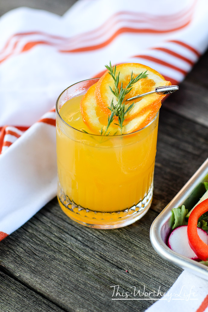 Tequila Orange Jigger Cocktail