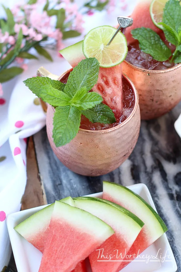 Moscow Mule Idea for summer parties