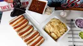 Hot Dog Bar Idea