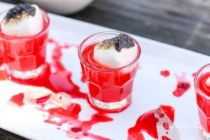 Fun and scary Halloween drink