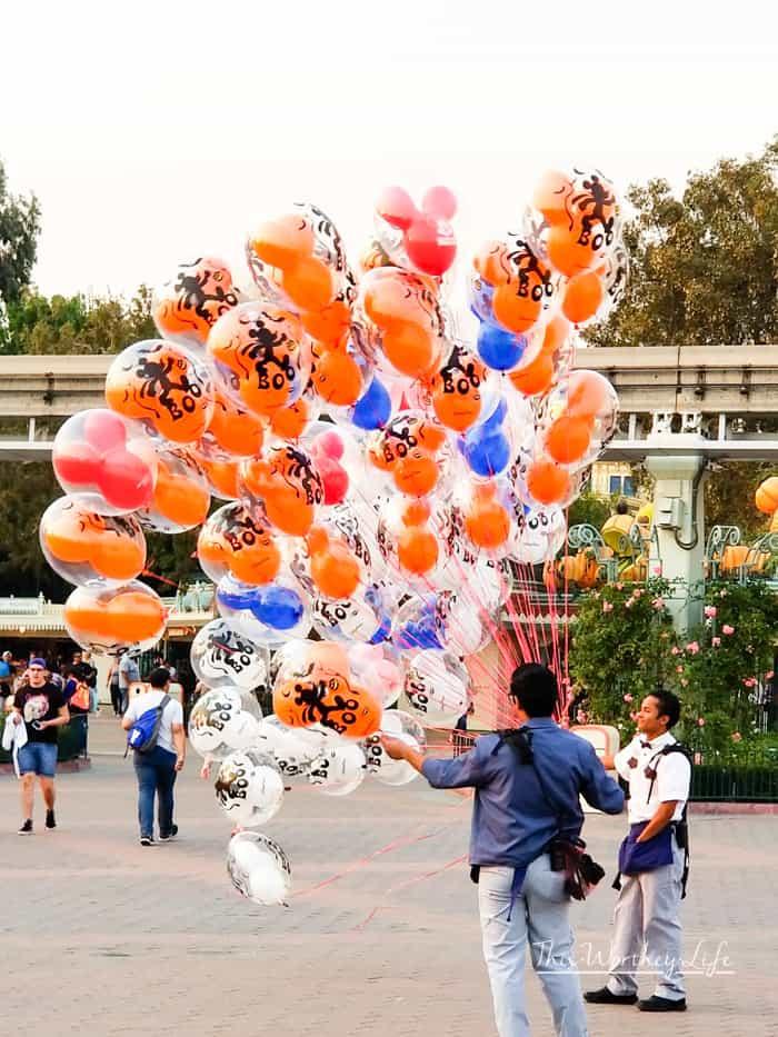 Disneyland Cars Land at Halloween Time