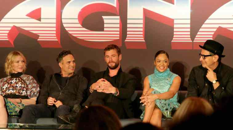 Thor Ragnarok Press Conference - Chris Hemsworth